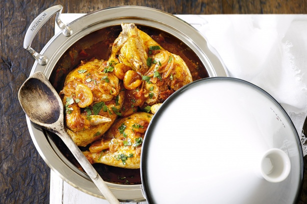 Chicken and Apricot Tagine | Tagine