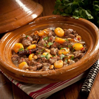 Lamb and Apricot Tagine | Tagine